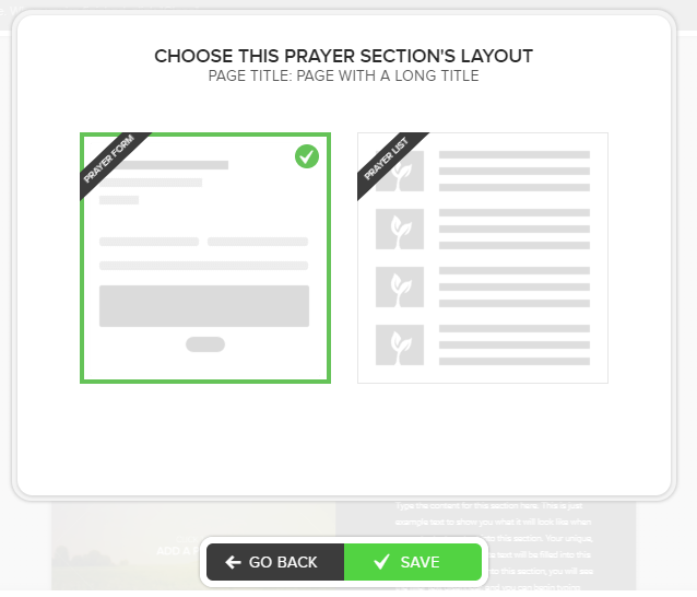 prayersectionlayouts